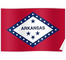 State Flags of the United States of America -  Arkansas Poster