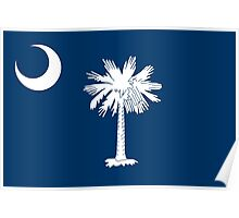 State Flags of the United States of America -  South Carolina Poster
