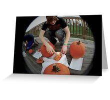 October Festivities Greeting Card