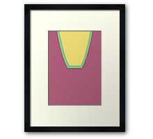 Screen Uniforms - Lost In Space - William Robinson -Style 2 Framed Print