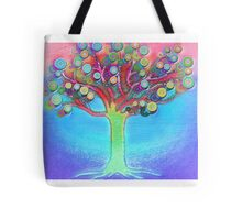 Tree of joy Tote Bag