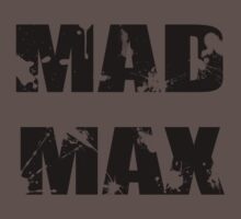 Mad Max One Piece - Short Sleeve