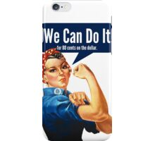 Feminist We Can Do It iPhone Case/Skin