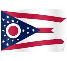 State Flags of the United States of America -  Ohio Poster