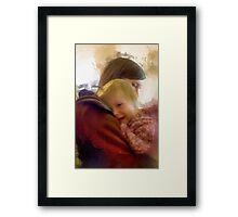 """""""A Mother's Comfort"""" Framed Print"""