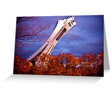 The Magic of the Olympic Stadium Greeting Card