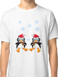 Cheerful penguins Classic T-Shirt