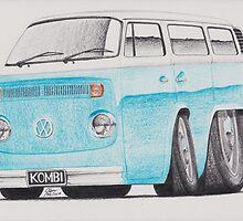 VW Kombi/Transporter by Glens Graphix by GlensGraphix