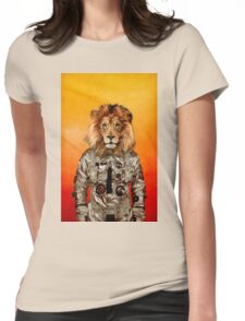 Go flight Womens Fitted T-Shirt
