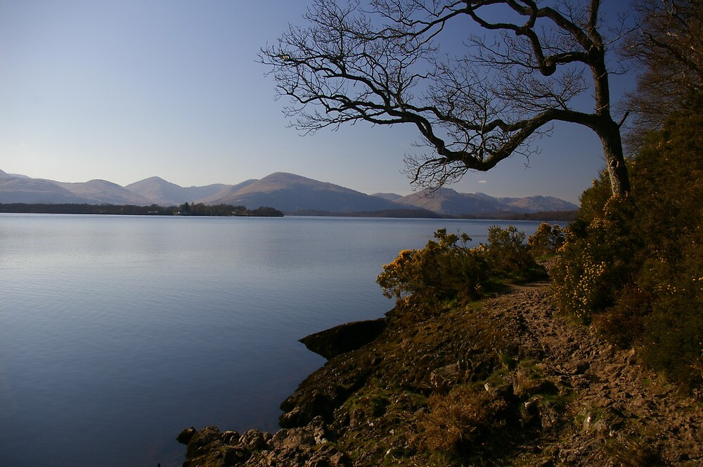 Balmaha, Loch Lomond by Susan Dailey