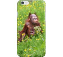 Orang Baby iPhone Case/Skin