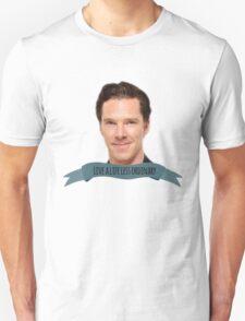 "benedict cumberbatch: ""live a life less ordinary"" T-Shirt"