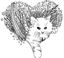 Cat love by -DIsForDoodle-