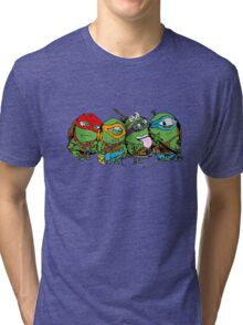 Teenage Mutant Ninja Minions Tri-blend T-Shirt