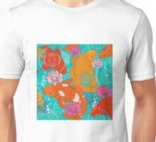 Japanese Koi Carp Fish - Square 1 Unisex T-Shirt