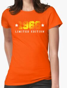 1966 Limited Edition Birthday Shirt Womens Fitted T-Shirt