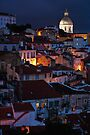 Lights of Lisboa by Nayko