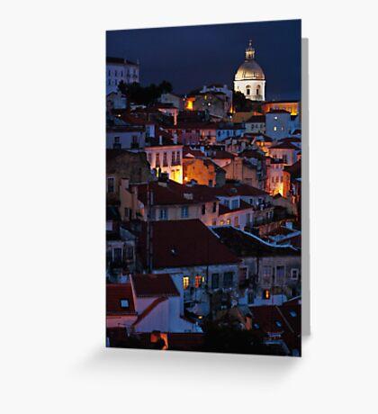Lights of Lisboa Greeting Card