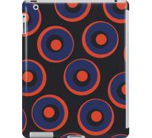 Retro pattern with circles iPad Case/Skin