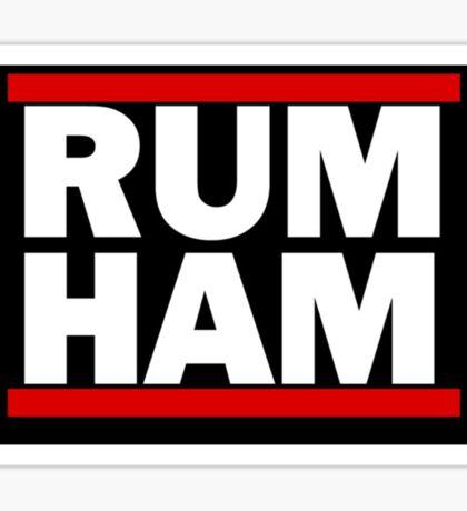 RUM HAM Sticker