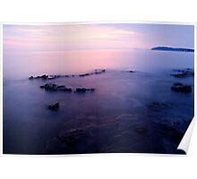 The beautiful Istrian coastline  Poster