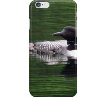 Loon- Northern Ontario iPhone Case/Skin