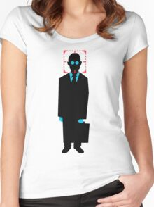 Harold Finch minimalistic Women's Fitted Scoop T-Shirt