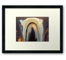 Sinkhole Framed Print