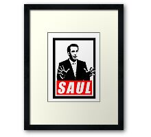 Better Call Saul - Saul (Obey) Framed Print