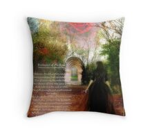 Romance of the Rose Throw Pillow