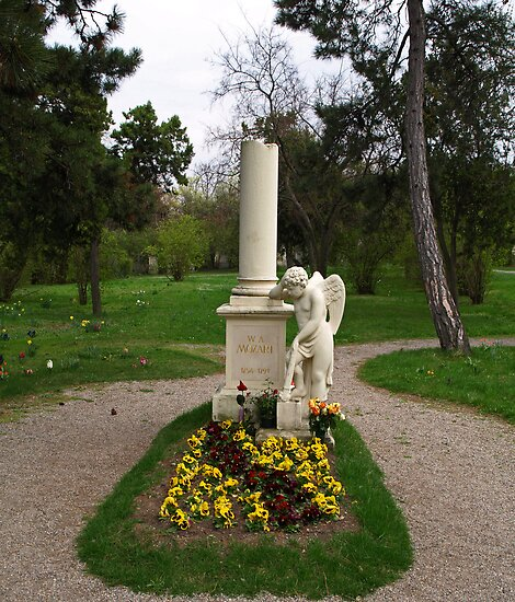 The Grave of Wolfgang Amadeus Mozart by Lee d'Entremont