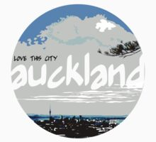 Auckland - Love This City Baby Tee