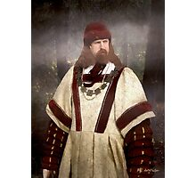 Captain of the Guild of St. Maurice Photographic Print