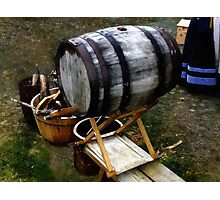 The Old Beer Barrel Photographic Print