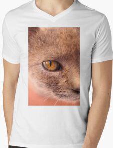 Moroccan Feline Mens V-Neck T-Shirt
