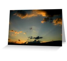 Patara Sunset Greeting Card