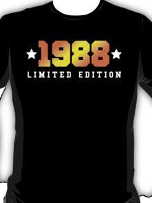 1988 Limited Edition Birthday Shirt T-Shirt