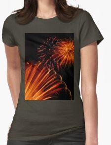 Firework 1 Womens Fitted T-Shirt