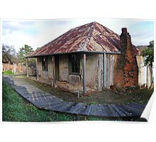 Beyer's Cottage - Hill End NSW Australia Poster