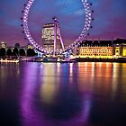 Purple Eye - London by skphotography
