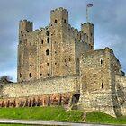 Rochester Castle by Kim Slater