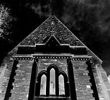 Darkened Church by Kelly Robinson