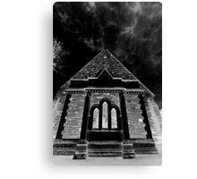 Darkened Church Canvas Print