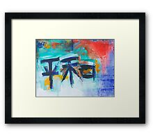 The Sum of 4...Peace Framed Print