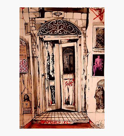 Broken Doors # 2 ( Salvation )  Photographic Print