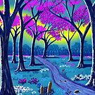 &quot;Lil&#x27; Purple Stream&quot;  by Steve Farr