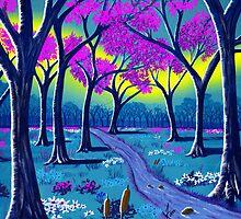 """""""Lil' Purple Stream""""  by Steve Farr"""