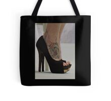 Heels With The Dragon Tattoo  Tote Bag