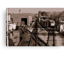 Embsay Station Canvas Print