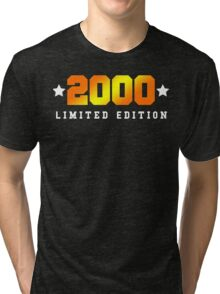 2000 Limited Edition Birthday Shirt Tri-blend T-Shirt